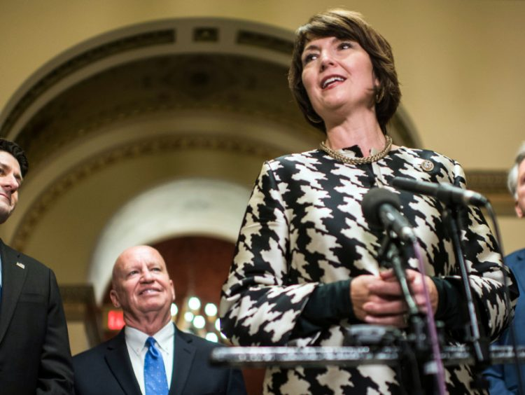 The one woman in Republican leadership is under siege