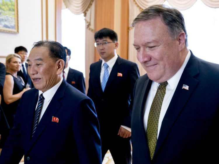 U.S. Secretary of State Mike Pompeo to meet with North Korea Official