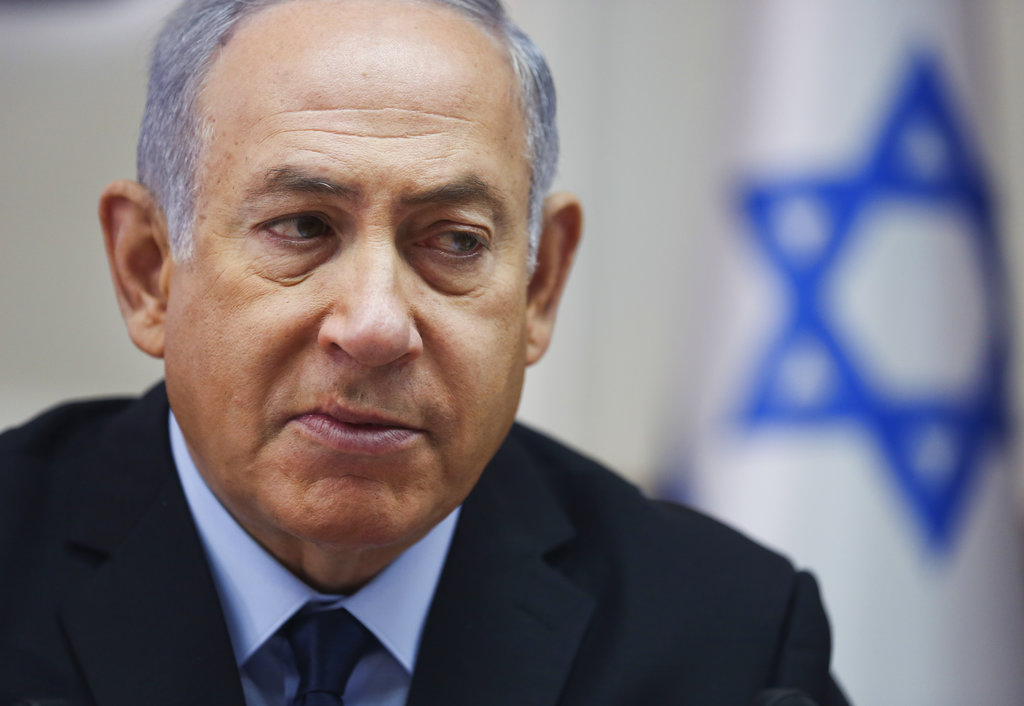 Israeli Prime Minister calls U.S. imposed sanctions on Iran 'courageous and historic'